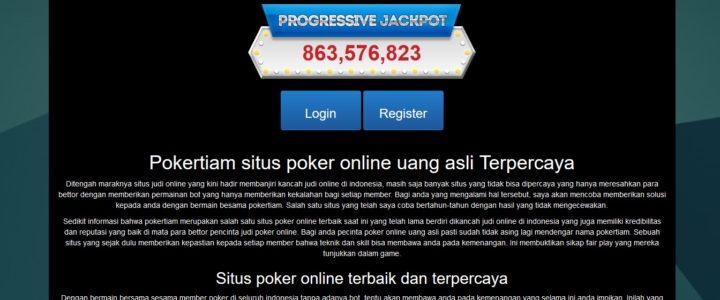 Pokertiam situs poker online uang asli di Dunia