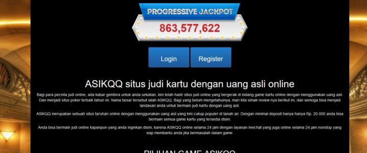 AsikQQ Situs Judi Poker QQ Online Asik QQ Terpercaya